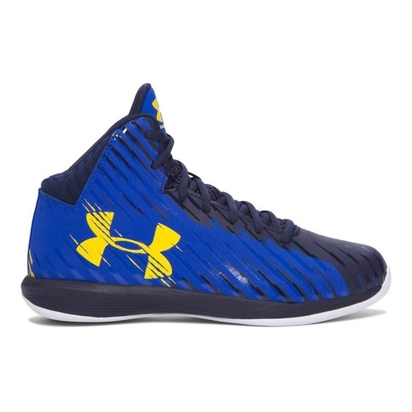 Under Armour Jet Mid K Basketball Shoes